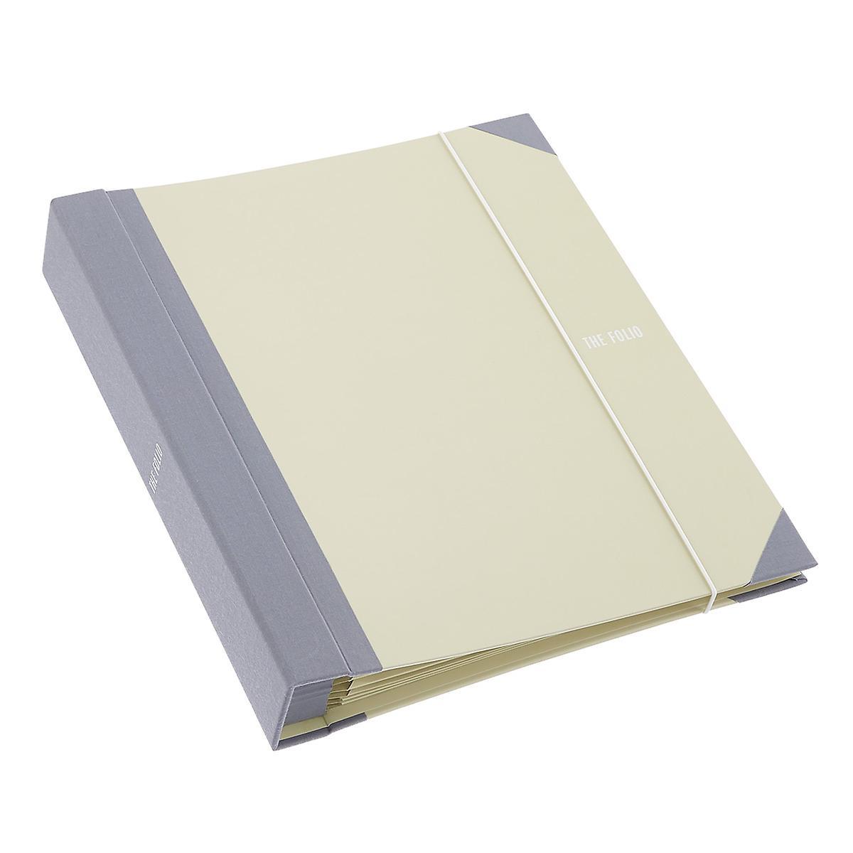 Savor Neutral Folio Document Organizer