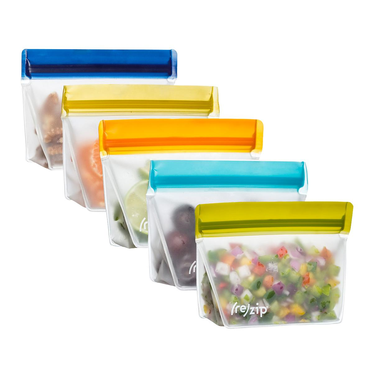 Blue Avocado Re-Zip Reusable Snack Bags