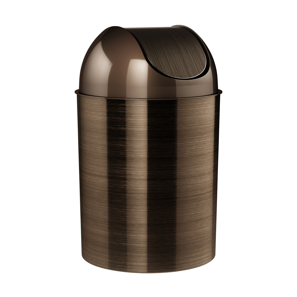 Bathroom Trash Can The Container, Small Bathroom Trash Can With Swing Lid