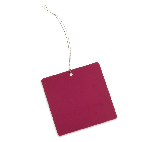Square Gift Tags Magenta Pkg/5