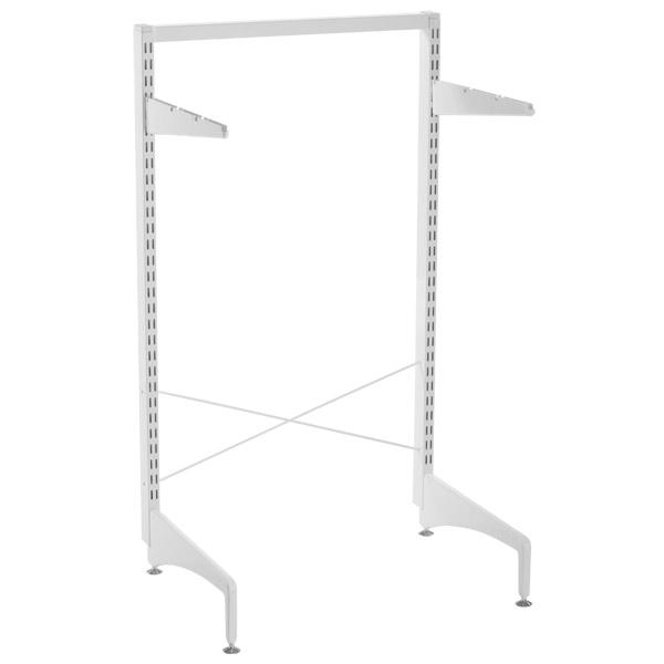 White Elfa freestanding Stabilization Kit