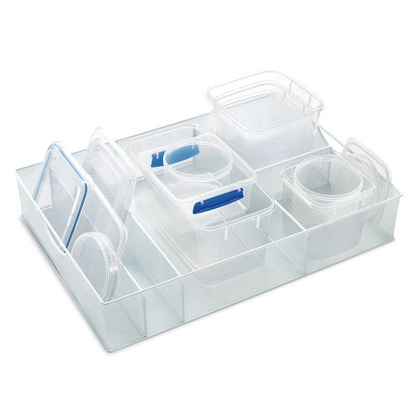 White Mesh Food Storage Organizers The Container Store
