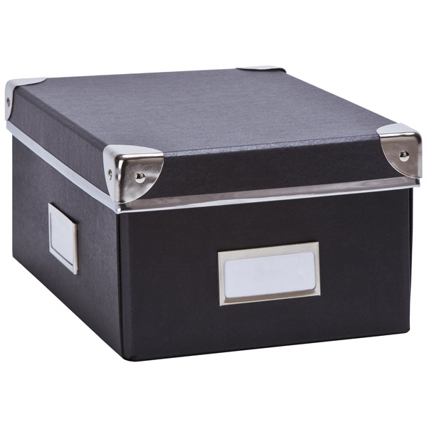 Snap-Up Check File Box