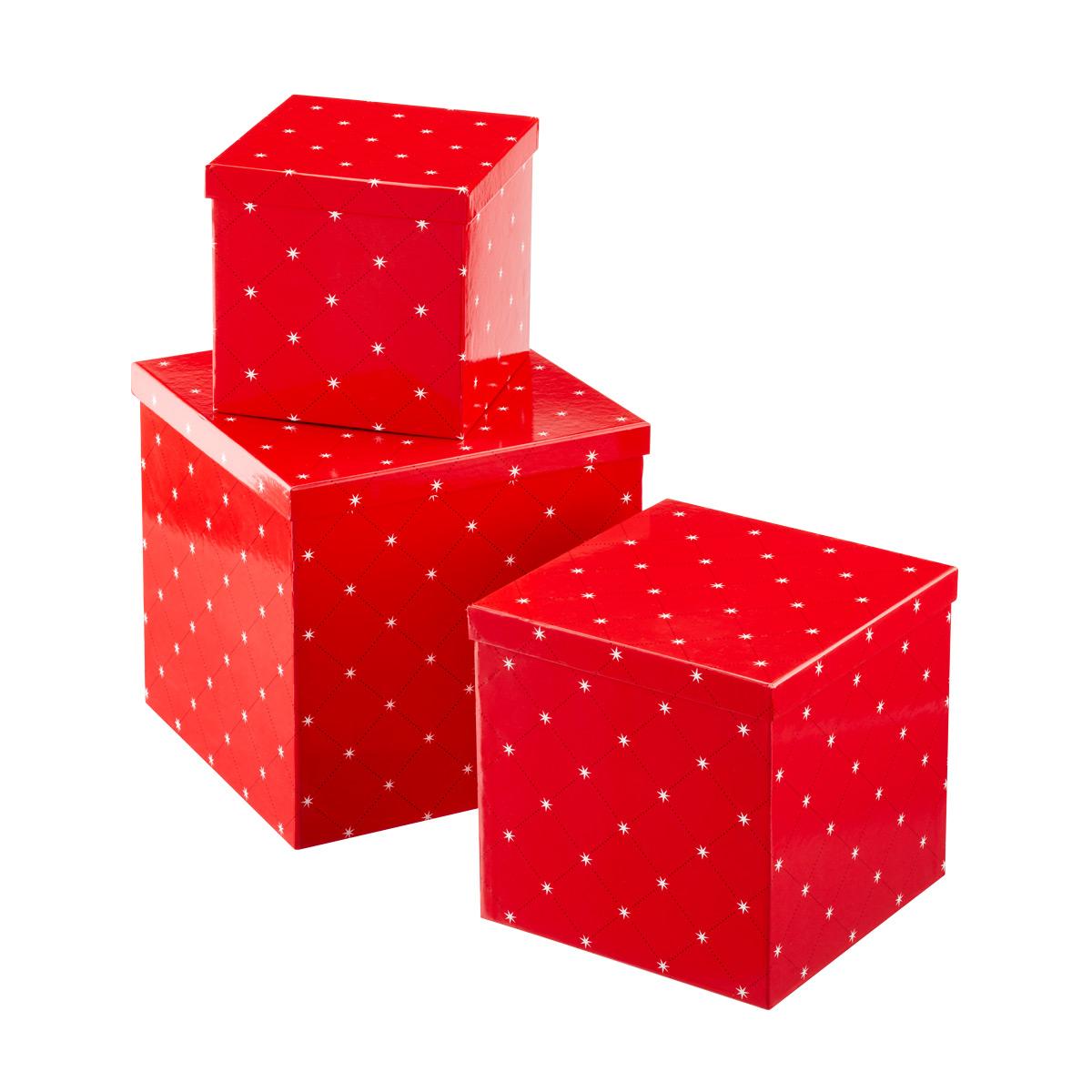 Cube Boxes Star Lattice