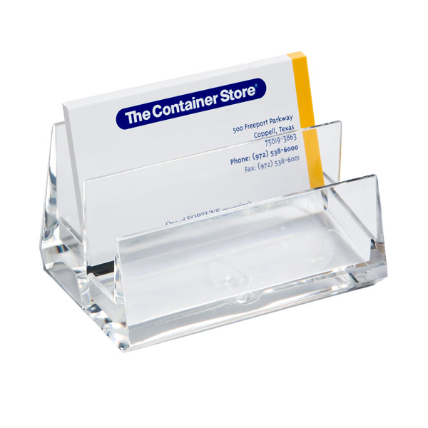 2-Tier Business Card Holder