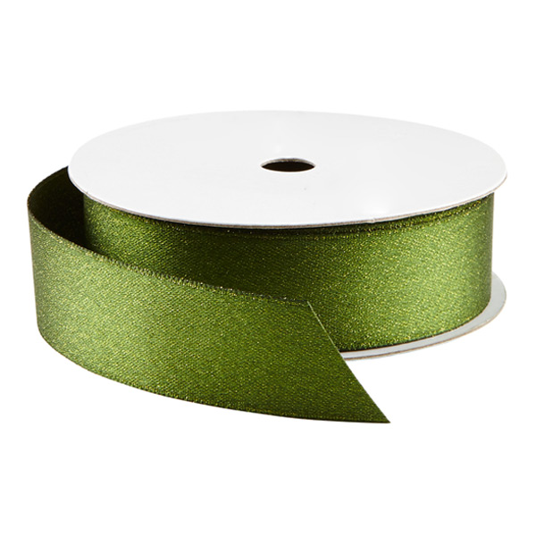 Ribbon Double Satin Glitter