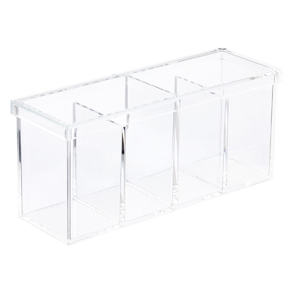 4-Section Acrylic Box