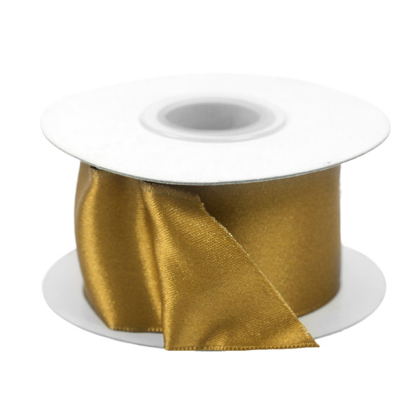 Gold Fleck Wired Ribbon