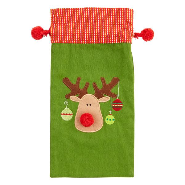 Reindeer Cotton Sack