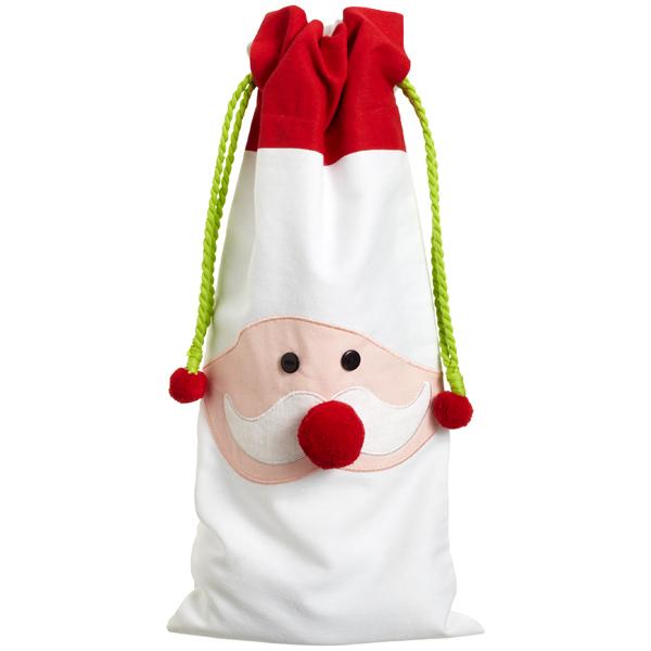 Santa Cotton Sack