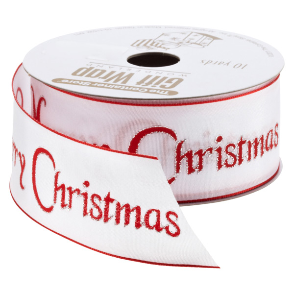 Ribbon Wired Merry Christmas