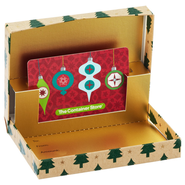 Tiny Trees Gift Card Box