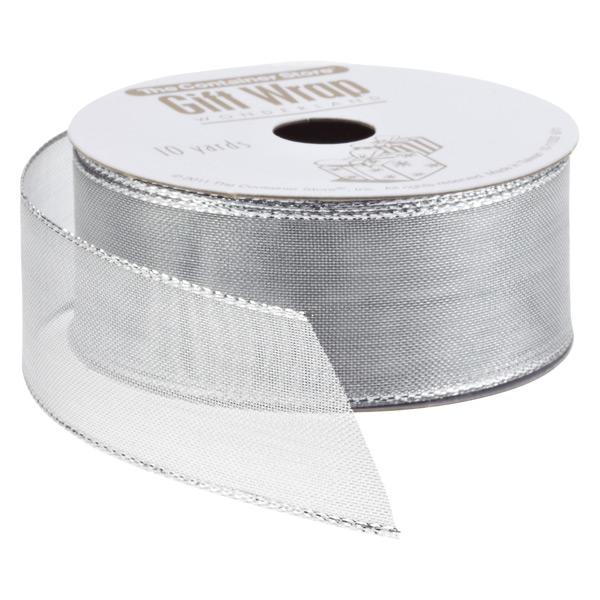 Ribbon Wired Metallic Mesh