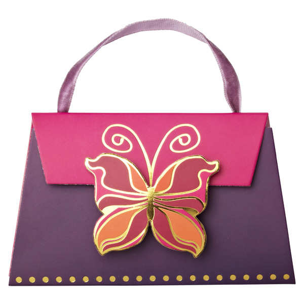 Deco Butterfly Gift Card Purse