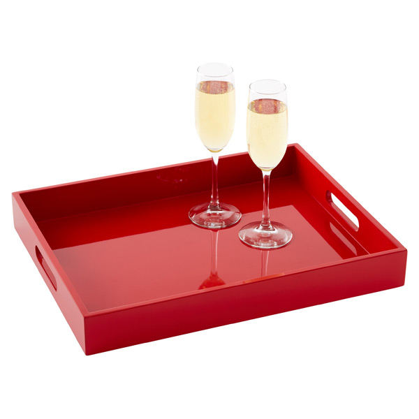 Lacquered Serving Tray