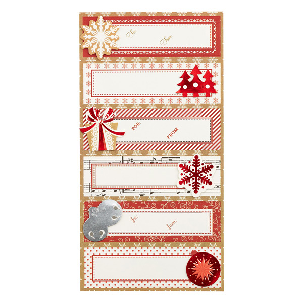 Christmas Craft Gift Labels