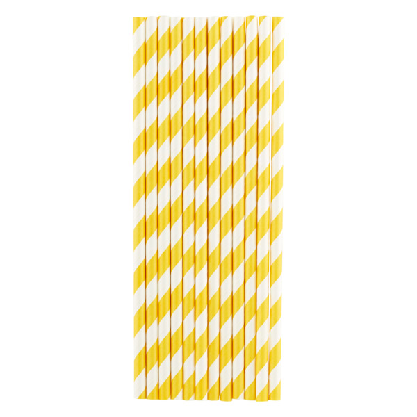 Paper Straws Stripe