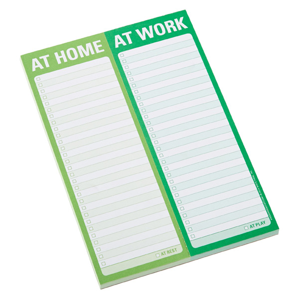 Perforated Notepad