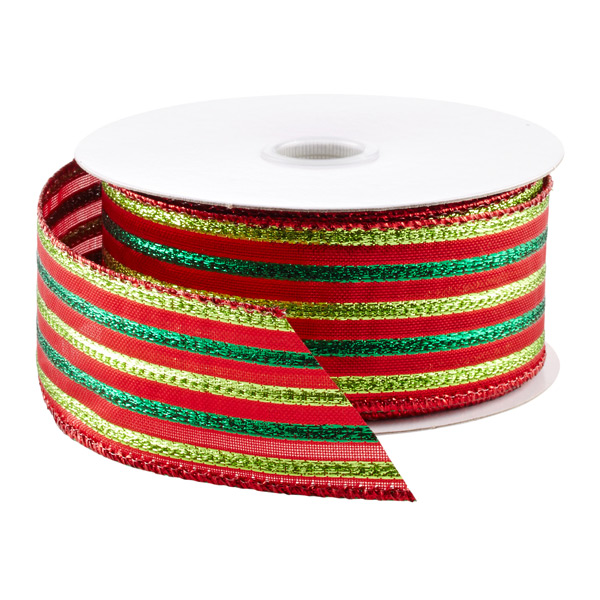 Stripes Wired Ribbon