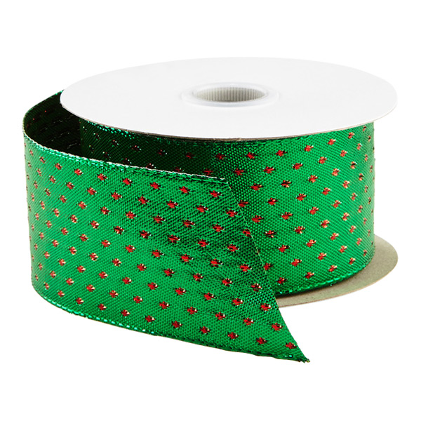 Ribbon Wired Woven Dot