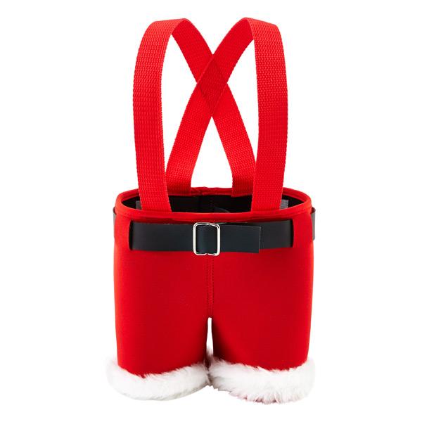 2-Bottle Carrier Santa Pant