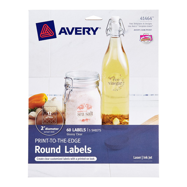 Avery^ Printable Label Sheets