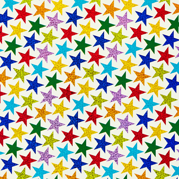 Wrap Colorful Stars