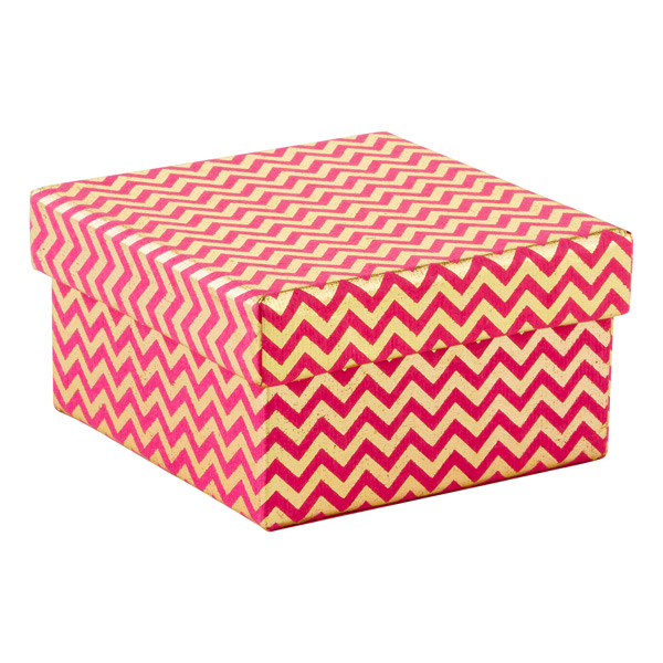 Recycled Box Chevron