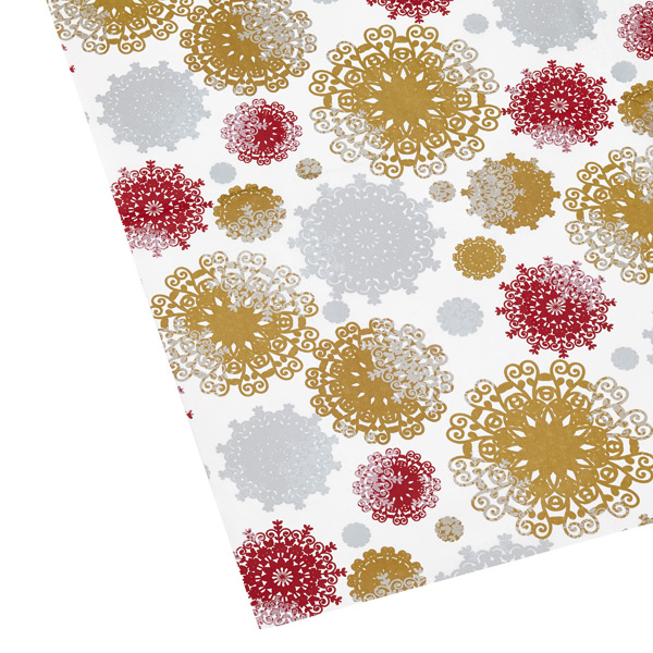 Tissue Sheets Snowflakes