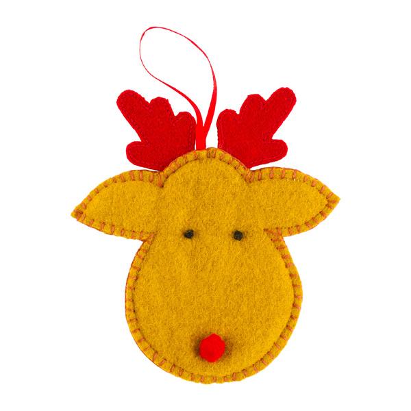 Gift Card Holder Reindeer Head