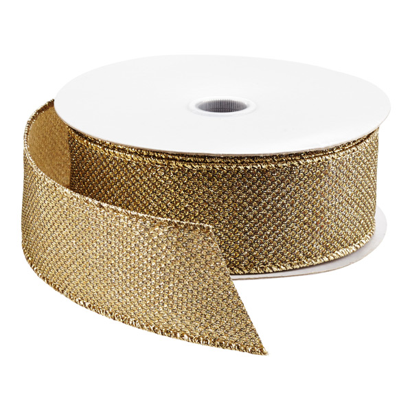 Ribbon Wired Foil Bling
