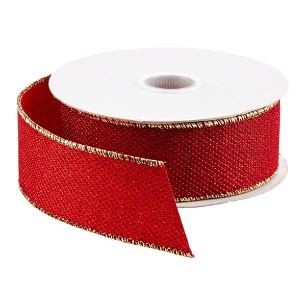 Ribbon Wired Metallic Sparkle