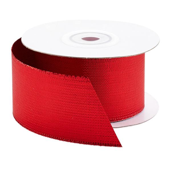 Ribbon Metallic Red