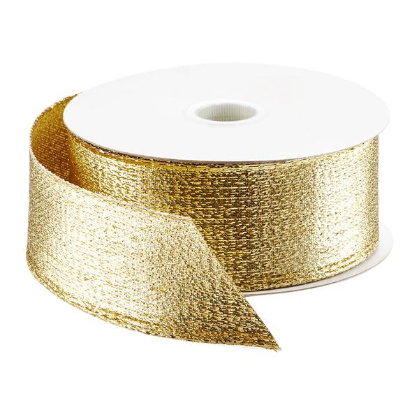 Ribbon Wired Metallic Lame