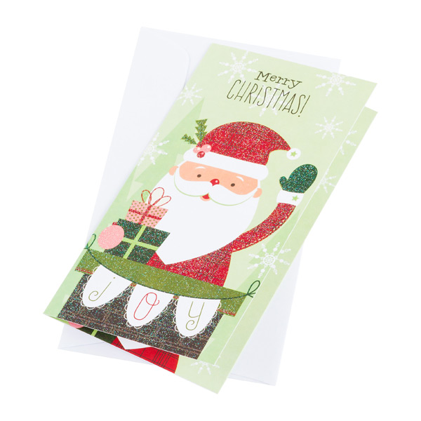 Money Card Merry Christmas