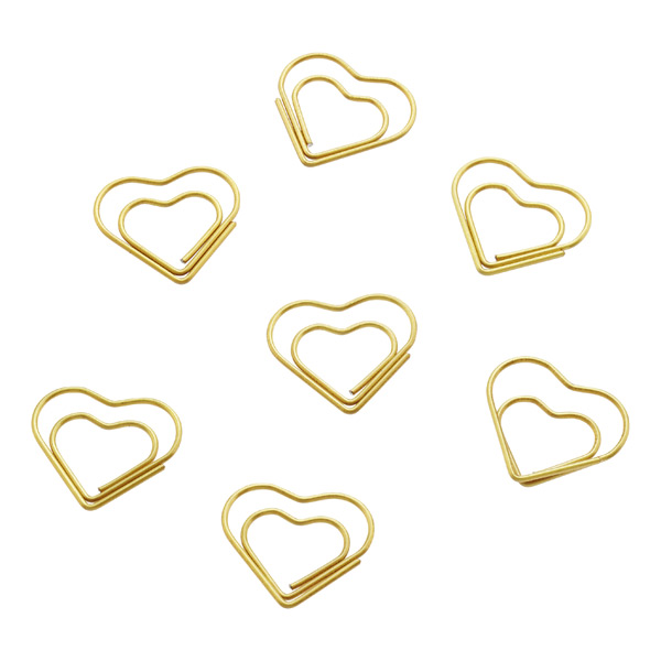 Hearts Paperclips