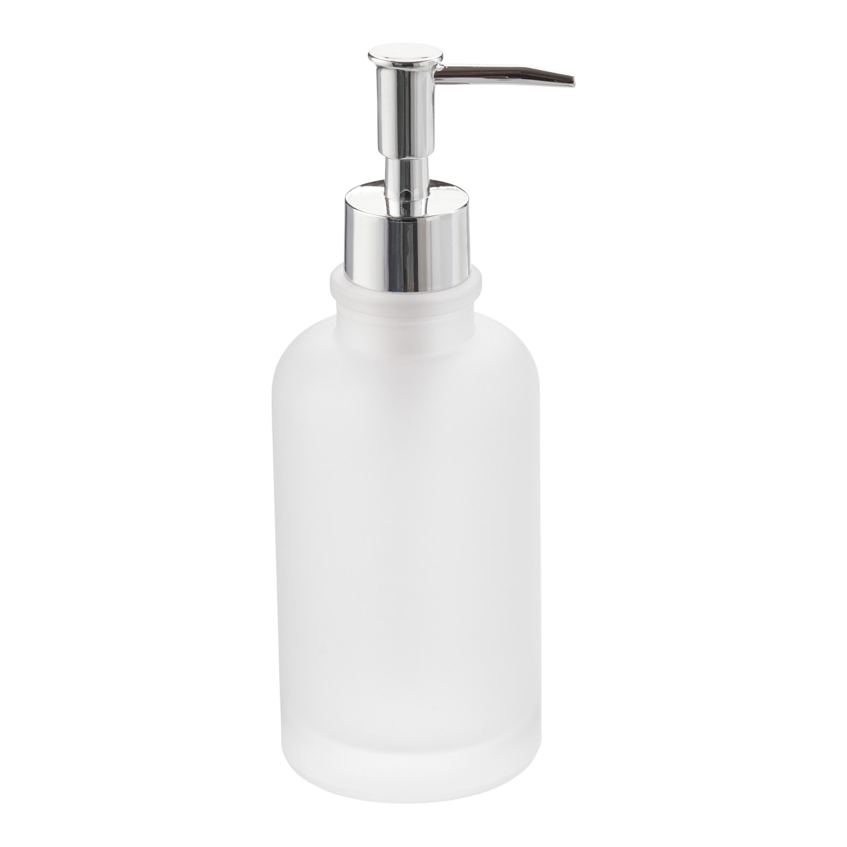 Frosted Glass Soap Pump