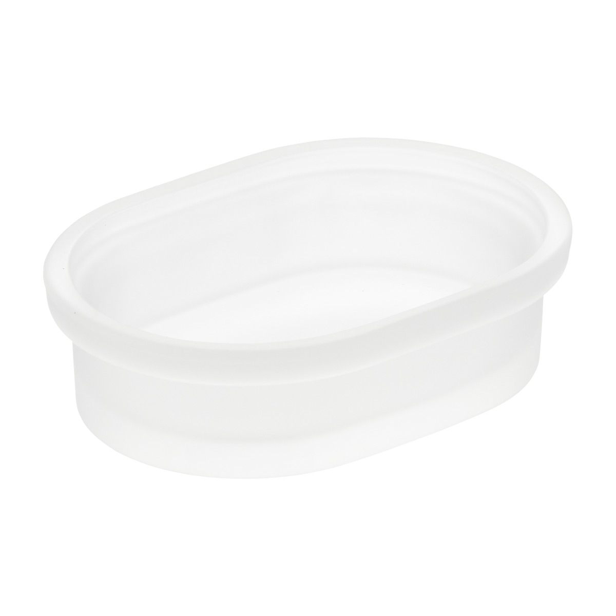 Frosted Glass Soap Dish