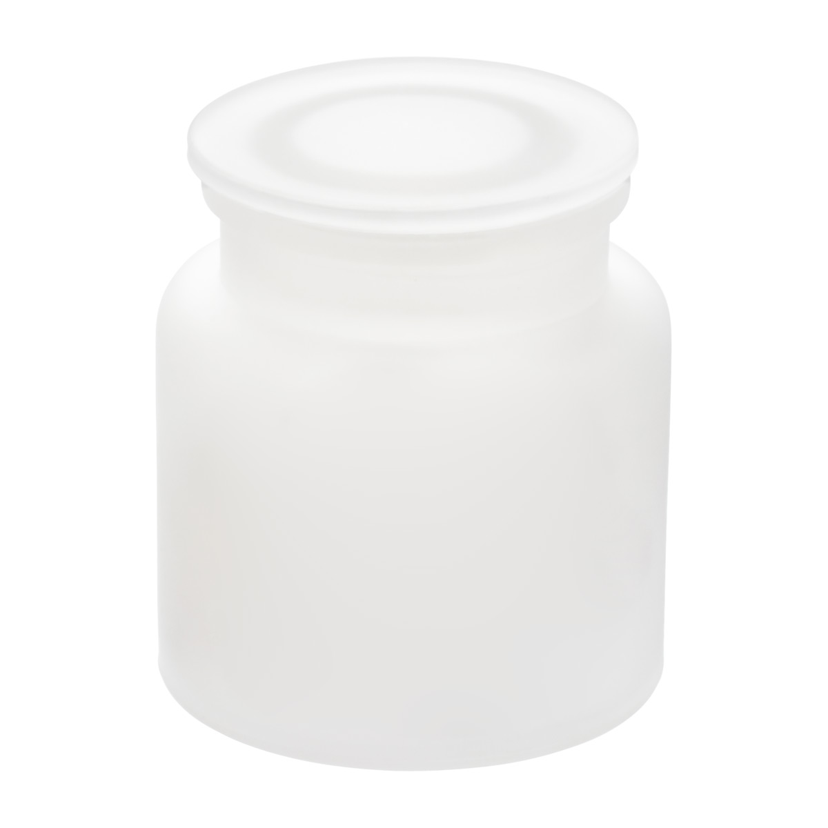 Frosted Glass Canister