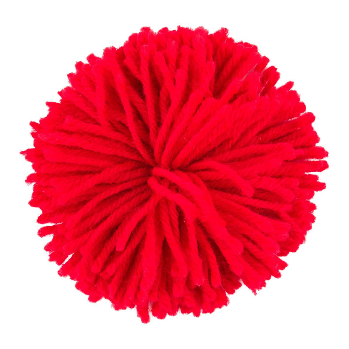 Pom Pom Yarn Bow
