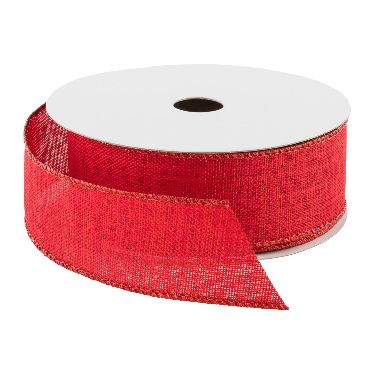Woven Metallic Wired Ribbon