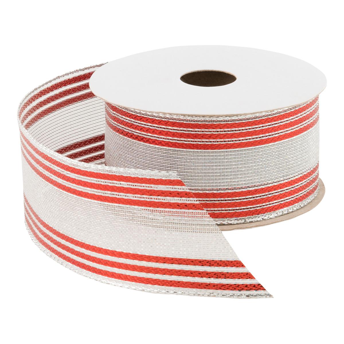 Stripe Delight Wired Ribbon