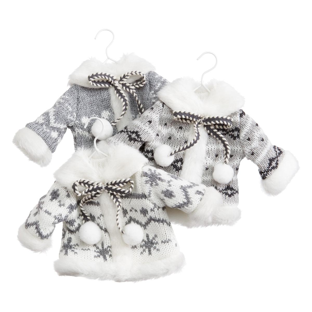 Winter Coat Tie-On