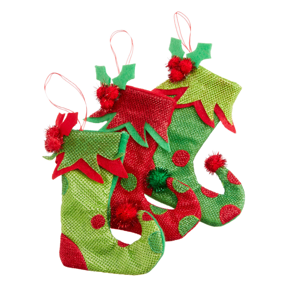 Holiday Stockings Tie-On