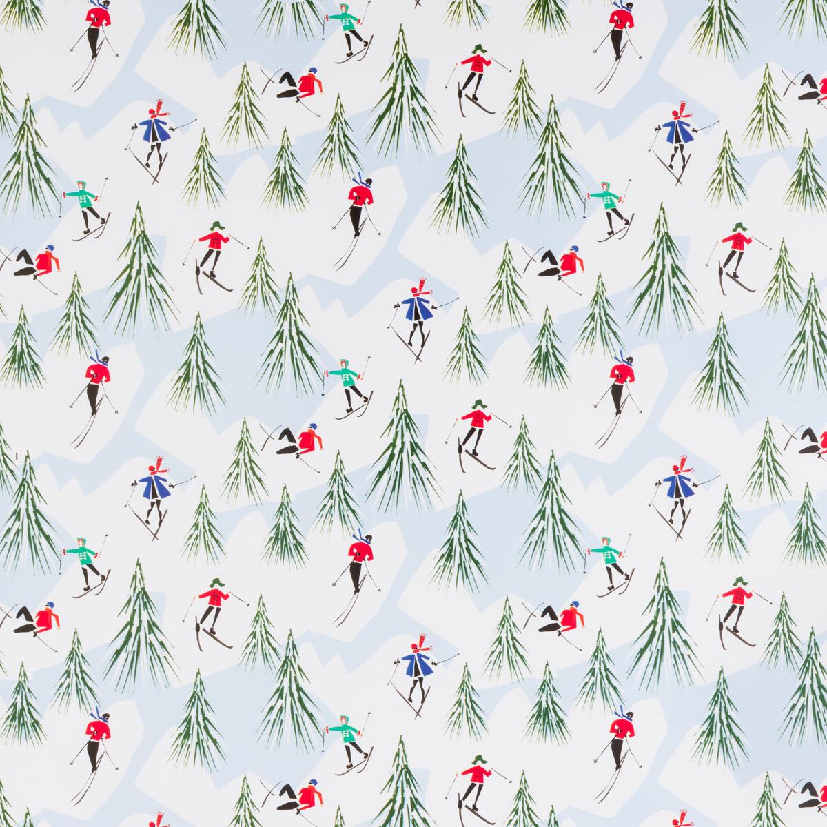 Alpine Holiday Wrap