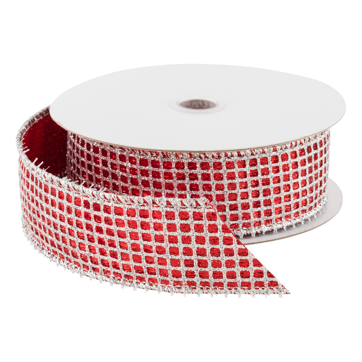 Wired Ribbon Waffle Glitter