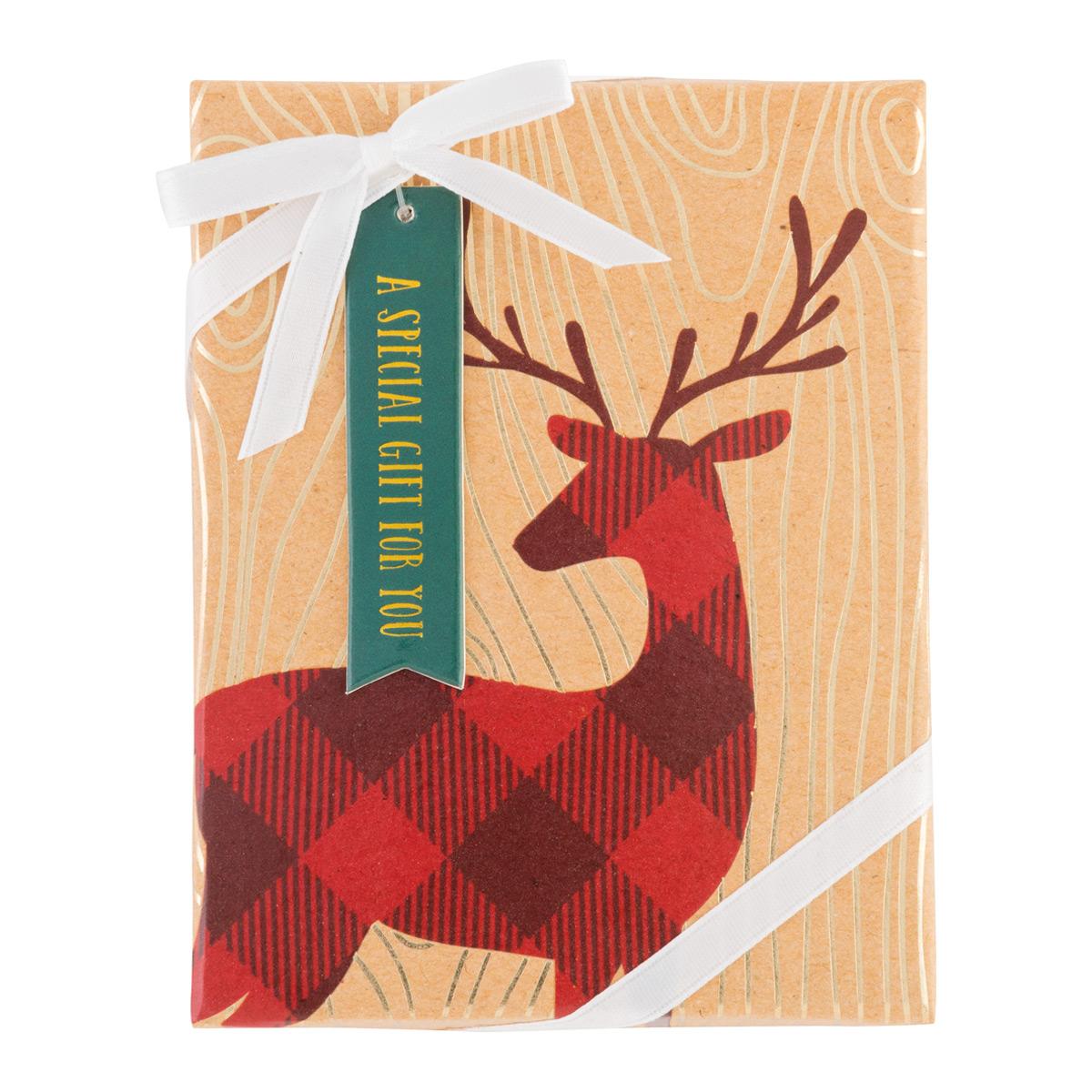 Gift Card Holder Stag Kraft