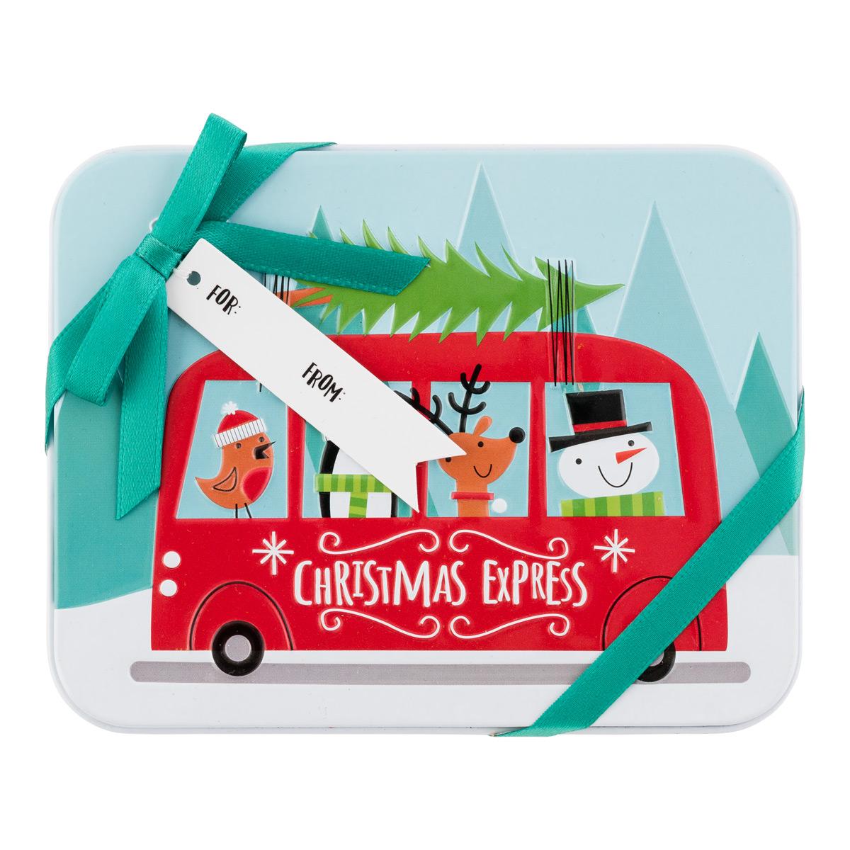 Gift Card Holder Van w/Tree
