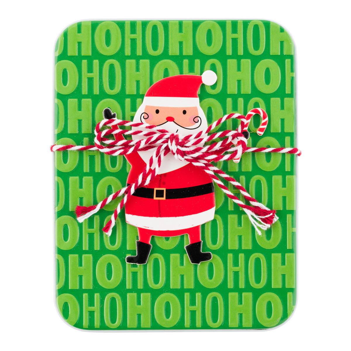 Gift Card Holder Waving Santa