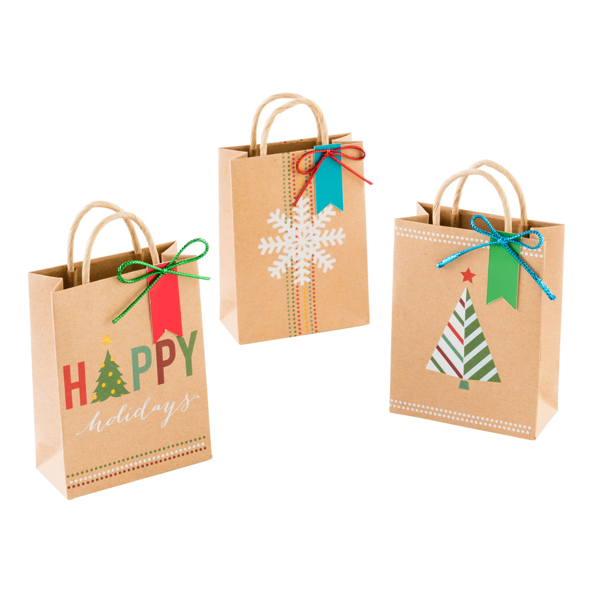 Gift Card Holder Totes Brights